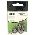 Pargueira Light Black Nickel Celta Ct1006 Nº2/0 175lb Cartela com 5un