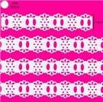 Passa Fita Marilda Mod. 97 Mini Crochê C/ 10m - Branco