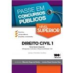 Passe em Concursos Publicos Nivel Superior Direito Civil 1 - Saraiva