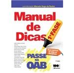 Passe na Oab 1 Fase - Manual de Dicas - Saraiva