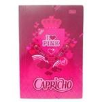Pasta Cartão Aba Elástico Oficio Capricho - Tilibra