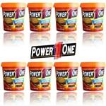 Pasta de Amendoim Power One 1kg - Combo com 8 Unidades Crocante