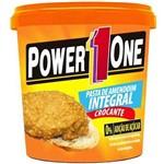 Pasta de Amendoim Torrado Crocante Power One