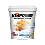 Pasta Integral de Amendoim BLANK PROTEIN - VitaPower 1kg - Chocolate Branco