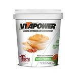 Pasta Integral de Amendoim COCO PROTEIN - VitaPower 1kg - Coco