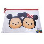 Pasta Necessaire Mickey & Minnie Tsum Tsum 23x32cm - Disney