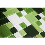 Pastilha Modulare MTS152 Verde e Branco 30x30