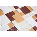 Pastilha Modulare MTS151 Marrom, Bege e Branco 30x30