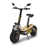 Patinete Elétrico Scooter Two Dogs Td Monster 1600w 48v Preto/Amarelo