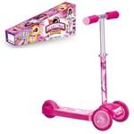 Patinete Speed Test 3 Rodas Rosa - Art Brink
