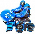 Patins 30, 31, 32 e 33 C/ Kit Proteção Tam. P. Bel Fix 3651
