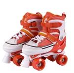 Patins All Slide Classic Rollers - G Laranja - Bel Sports