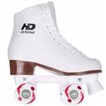 Patins Hondar Quad Branco - Branco - 33 (Calça 31)