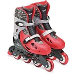 Patins Hot Wheels 4 Rodas Ajust 37/40 Fun Par