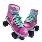 Patins Infantil Roller 4 Rodas Shopkins - Dtc