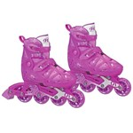 Patins Inline - Tracer Girl - Rollerderby - Pink - Tam 33/35 - Fila