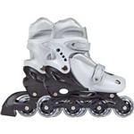 Patins Roller Cinza Tam M 35-38 Mor
