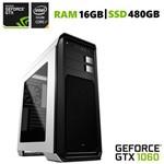 PC Gamer EasyPC Extreme Intel Core I7 3.8Ghz 16GB (GeForce GTX 1060 6GB) SSD 480GB Gabinete Aero 800