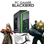 PC Gamer InfoParts BLACKBIRD Intel I7 8700, RX 550 4GB, 1TB 8G
