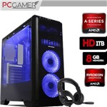 Pc Gamer Tornado Amd A8 8650, 8Gb Ram, Radeon R7, HD 1Tb