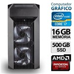 Pc Gráfico Intel Core I7 16gb R7 360 Ssd 500 Win 10