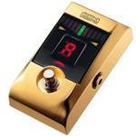 Pedal Afinador para Baixo e Guitarra Korg Pitchblack Pb-01 Gold