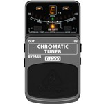 Pedal Behringer Tu300 Chromatic Tuner P/ Guitarra 2 Anos Garantia