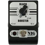 Pedal Nig Black Booster Pbb True Bypass