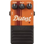 Pedal para Guitarra Fender - Distortion Laranja