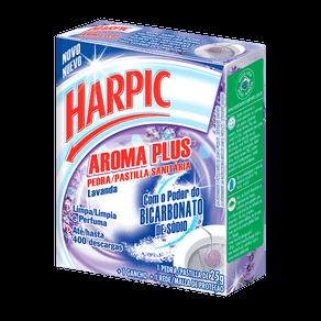 Pedra Sanitária Harpic Aroma Plus Lavanda C/ 1 Unidade