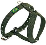 Peitoral de Passeio Nº1 - AMF Pet Peitoral de Passeio Nº1 - Verde Exército