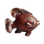 Peixe Decorativo Cobre
