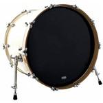 Pele Attack Drumheads 1-ply Medium Hazy Black Bass 20¨ Filme Único Preto Resposta de Bumbo Dha20b