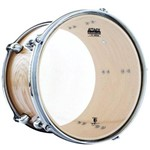 Pele Attack Drumheads Terry Bozzio Signature Clear 12¨ Transparente Clássica Tb12