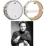Pele Attack Pack de Caixa Terry Bozzio Signature com Coated 14¨ Porosa e Resposta Hazy 14¨ Tbvp