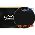 Pele de Tom ou Surdo 14'' Remo Emperor Ebony Be-0014-es