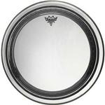 Pele Remo Powerstroke Pro Clear 24¨ com Abafador Extra e Sistema de Overtones (10478)