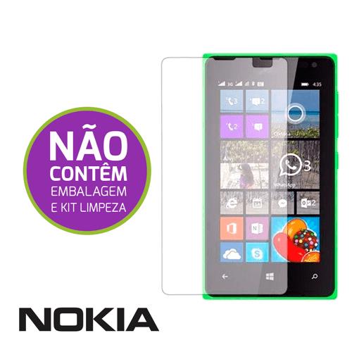 Película de Vidro Temperado Sem Embalagem - Nokia Nokia Lumia N535
