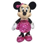 Pelúcia 18 Cm - Disney - Minnie Mouse - Saia de Bolinhas - Dtc
