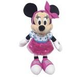 Pelúcia 18 Cm - Disney - Minnie Mouse - Saia Rosa - Dtc