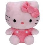 Pelúcia Beanie Babies Hello Kitty Pink - DTC