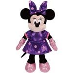 Pelúcia Beanie Babies Minnie Vestido Roxo - DTC
