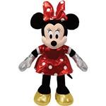 Pelúcia Beanie Babies Minnie Vestido Vermelho - DTC
