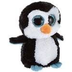 Pelúcia Beanie Boos Pinguim Waddles - Dtc