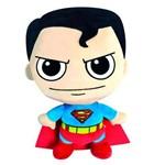 Pelúcia com Mecanismos - Dc Comics - Liga da Justiça - Superman - Dtc