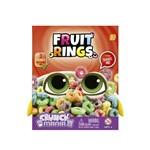 Pelúcia com Som - 16 Cm - Crunch Mania - Fruit Rings - Intek