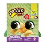 Pelúcia Crunch Mania - Potato Chips - com Som - Fun