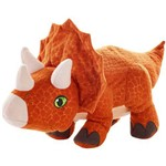 Pelúcia - Jurassic World 2 - Ovo Plush Reversível - Triceratops - Mattel