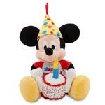 Pelúcia Mickey Musical Happy Birthday Original Disney Store