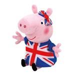 Pelucia Peppa Pig de Uniforme 20 Cm Ty Dtc